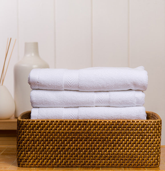 Set of 3 Organic Hand Towels in Assorted Colors design by Turkish Towel Company
