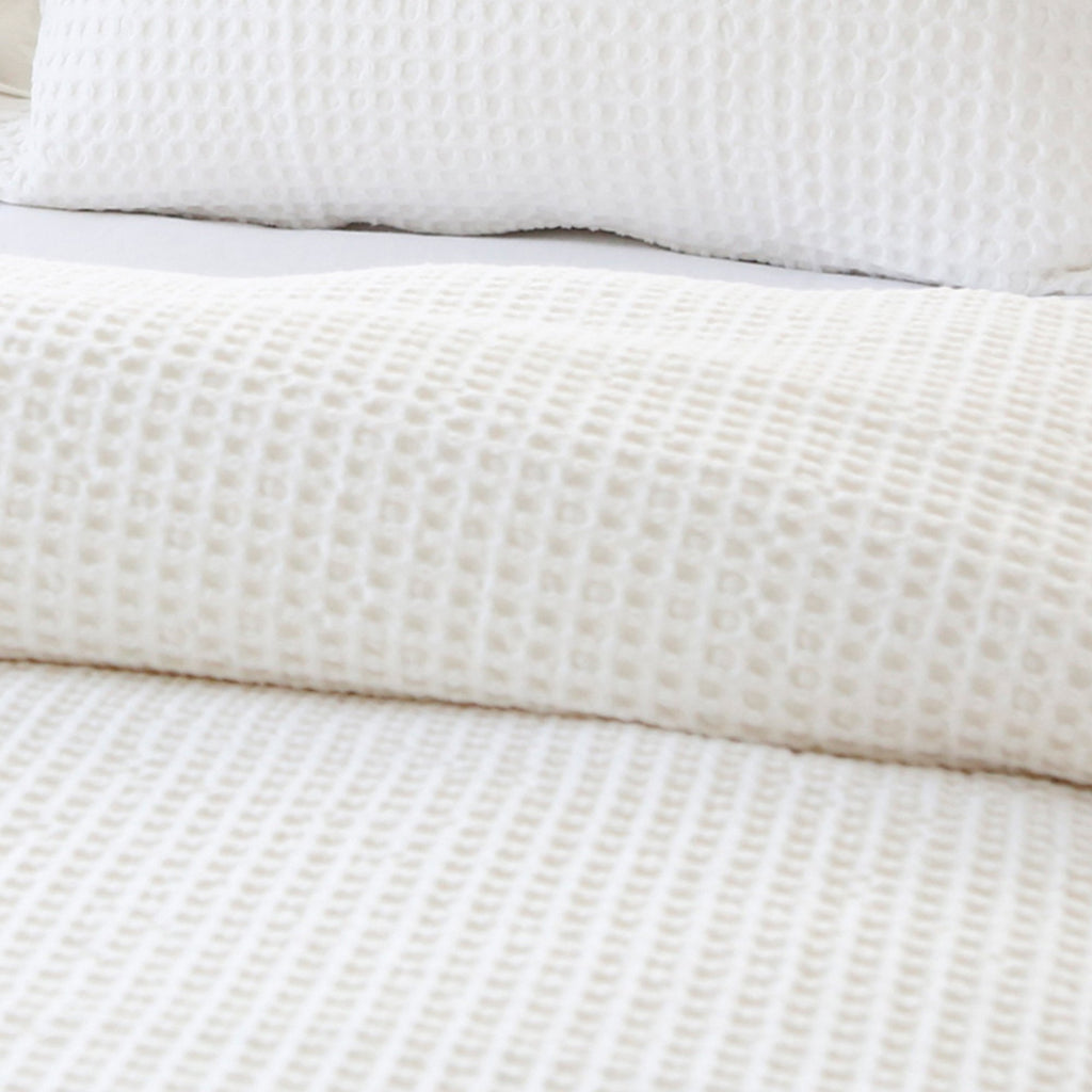Zuma Blanket Collection in Cream by Pom Pom at Home