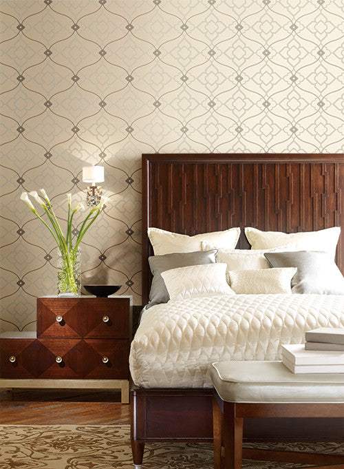 Zuma Wallpaper design by Candice Olson for York Wallcoverings