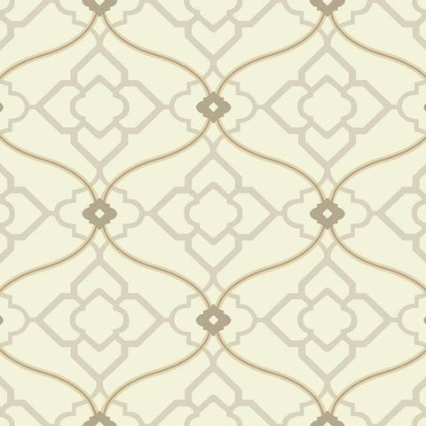 Zuma Wallpaper in Beige design by Candice Olson for York Wallcoverings
