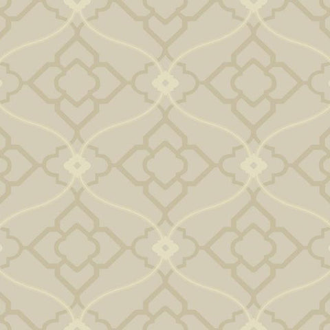 Sample Zuma Wallpaper in Grey design by Candice Olson for York Wallcoverings