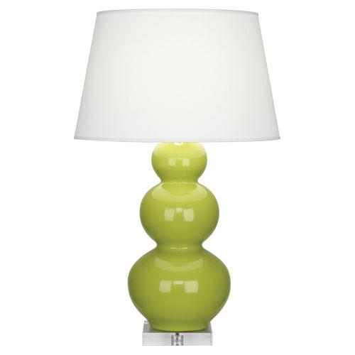 Triple Gourd Collection Table Lamp design by Robert Abbey