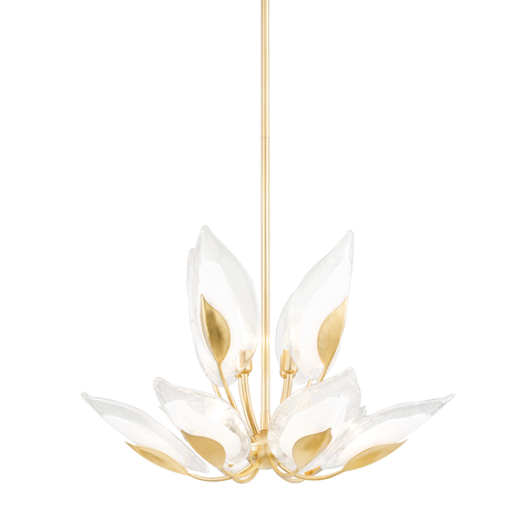 Blossom 12 Light Chandelier by Hudson Valley
