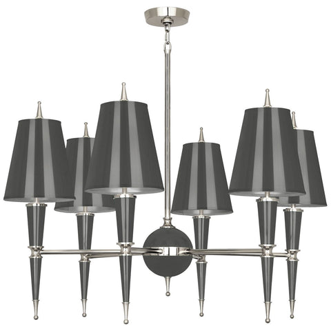 Versailles Chandelier in Various Finishes & Shades design by Jonathan Adler