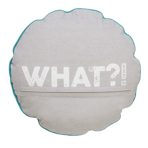 """What"" Monster Pillow design by BD Mini"