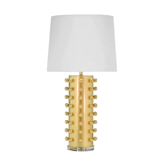 Ball Studded Table Lamp in Various Colors