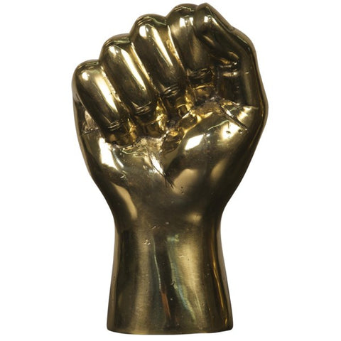 The Solidarity Fist Sculpture in Brass