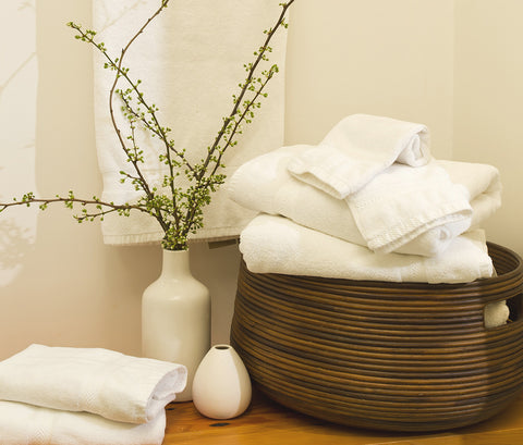 Organic Complete Bath Set in Assorted Colors design by Turkish Towel Company
