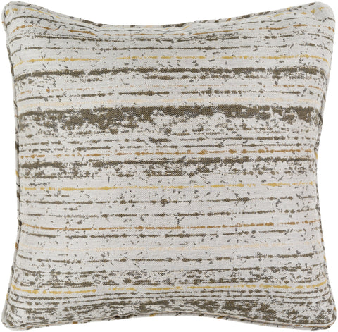 "Arie 20"" Outdoor Pillow in Olive & Mocha design by Sunbrella"
