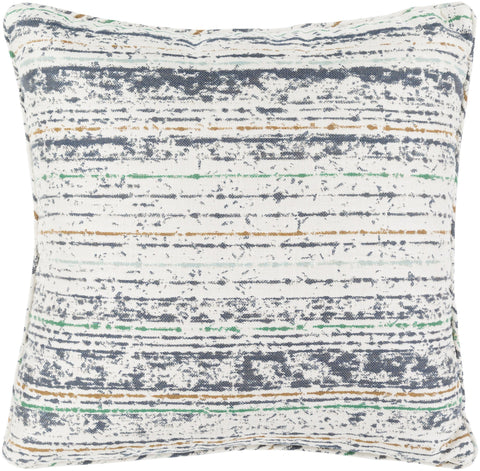 "Arie 16"" Outdoor Pillow in Grey & Moss design by Sunbrella"
