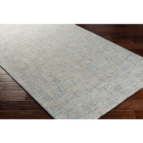 Aiden Rug in Denim & Cream
