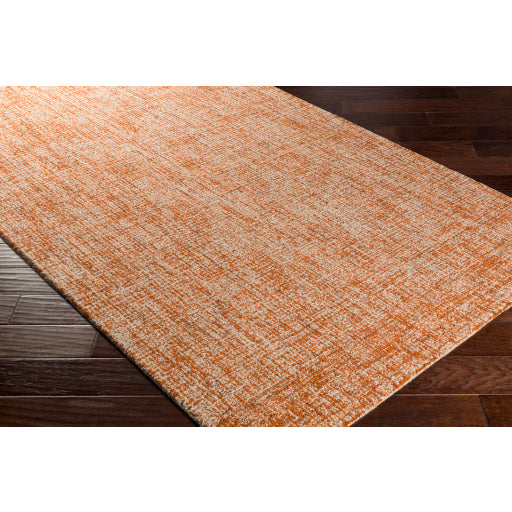 Aiden Rug in Burnt Orange & Khaki