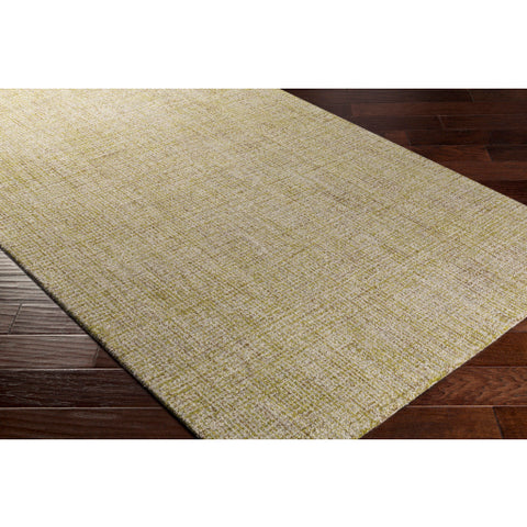 Aiden Rug in Olive & Khaki