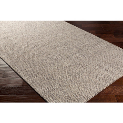 Aiden Rug in Medium Gray & Khaki