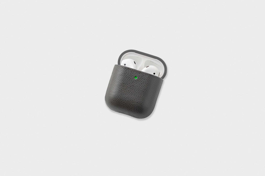 Courant AirPods Leather Case - Ash