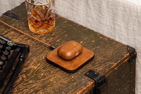 Courant AirPods Pro Leather Case - Saddle