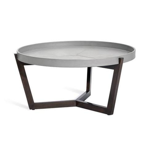 Ansley Cocktail Table in Grey design by Interlude Home