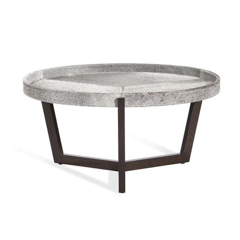 Ansley Cocktail Table in Hide design by Interlude Home