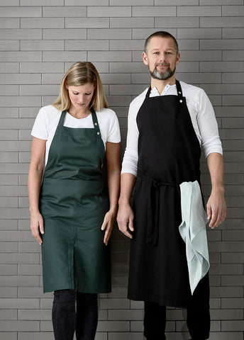 Apron With Pocket in multiple colors