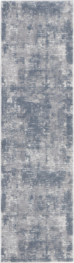 Rustic Textures Rug in Grey by Nourison