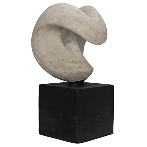 Nobuko Sculpture in Fiber Cement by Noir