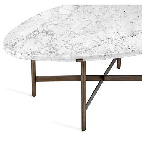 Arlington Cocktail Table in Carrara design by Interlude Home