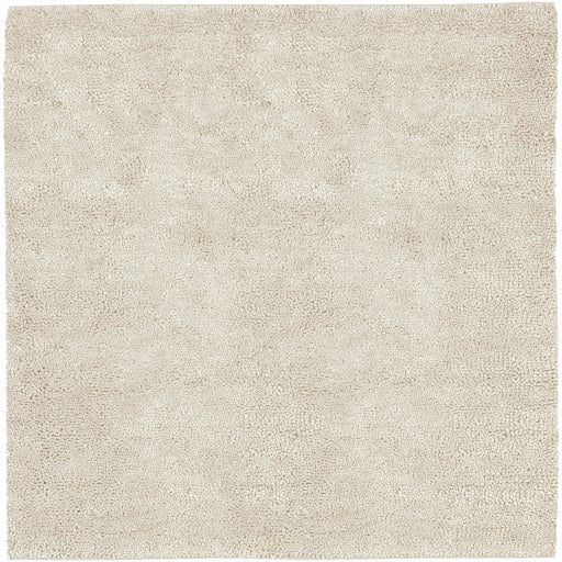 Aros Collection New Zealand Felted Wool Shag Rug in Winter White design by Surya