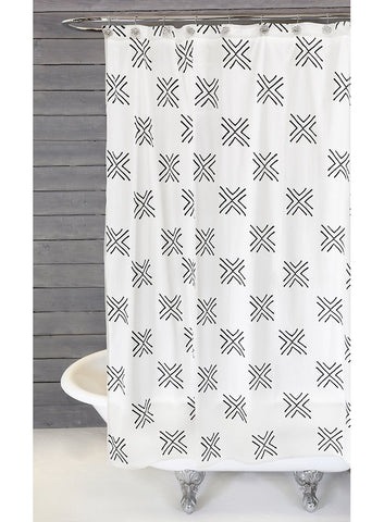 Arrow Shower Curtain design by Pom Pom at Home