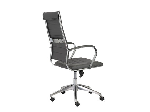 Axel High Back Office Chair in Grey design by Euro Style