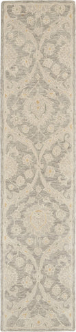 Jazmine Rug in Grey by Nourison