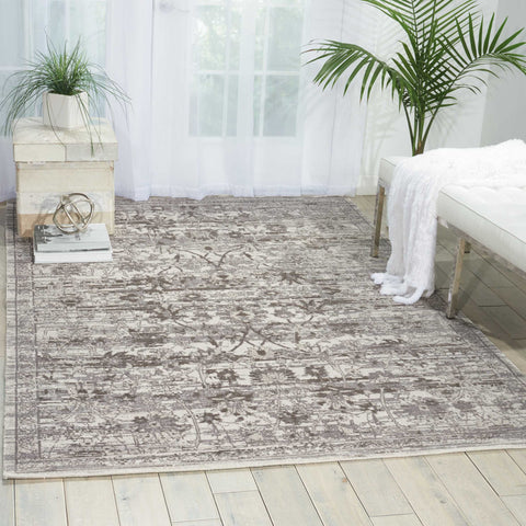 Twilight Rug in Silver by Nourison