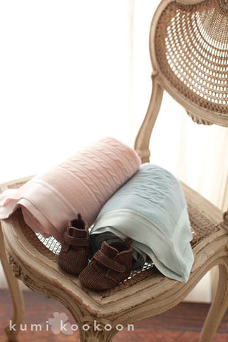 Petite Cashmere Throw design by Kumi Kookoon