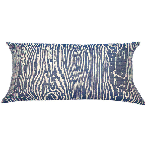Bahamas Wood Pillow  in various sizes design by Square feathers
