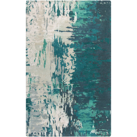 Banshee Teal Rug design by Surya