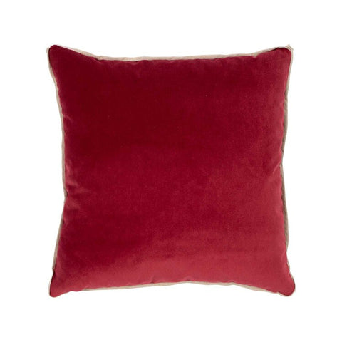 Banks Pillow in Lipstick design by Moss Studio