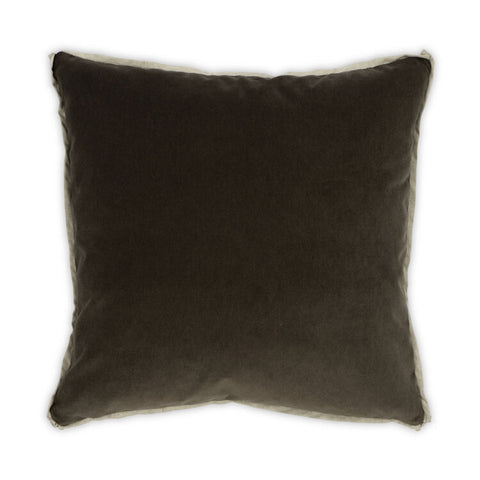 Banks Pillow in Olive design by Moss Studio