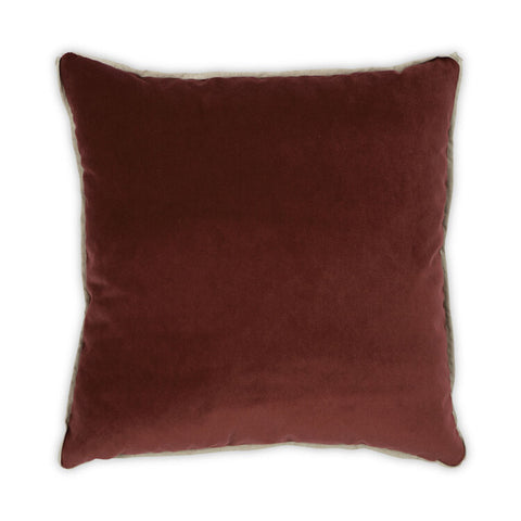 Banks Pillow in Zinnia design by Moss Studio
