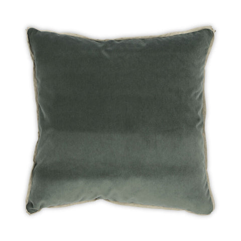 Banks Pillow in Jade design by Moss Studio