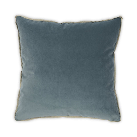 Banks Pillow in Lagoon design by Moss Studio