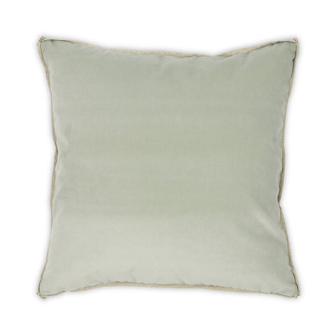 Banks Pillow in Mint design by Moss Studio