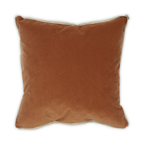 Banks Pillow in Nutmeg design by Moss Studio