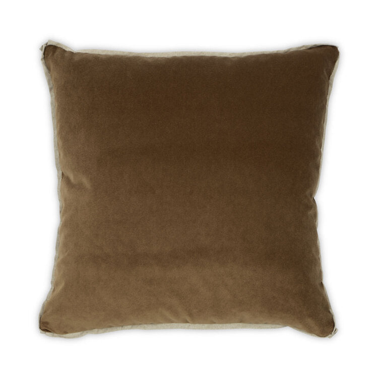Banks Pillow in Toffee design by Moss Studio