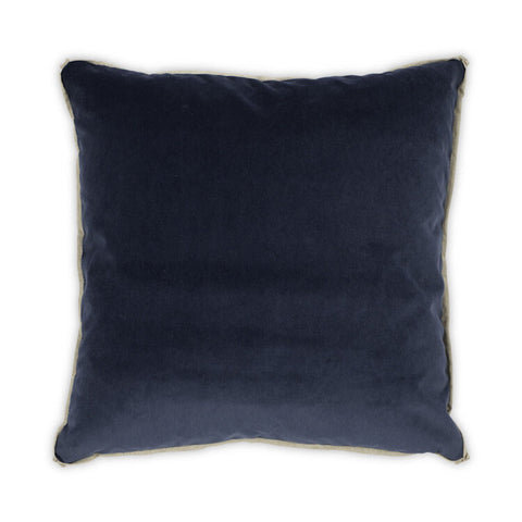 Banks Pillow in Uniform design by Moss Studio