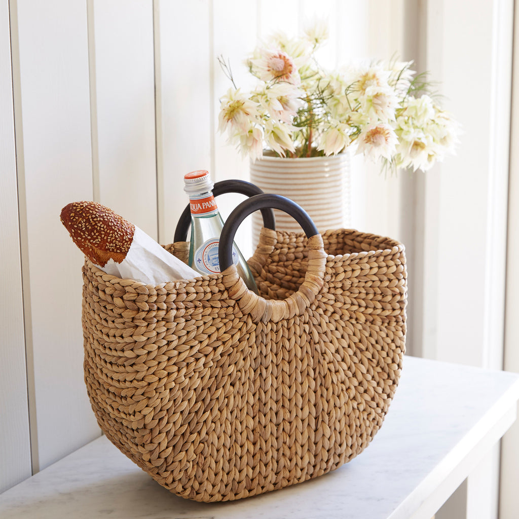 Large Demilune Basket Tote design by Sir/Madam