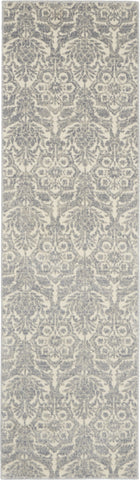Sahara Rug in Ivory/Platinum by Kathy Ireland