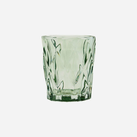 Face Tealight Holder, Green