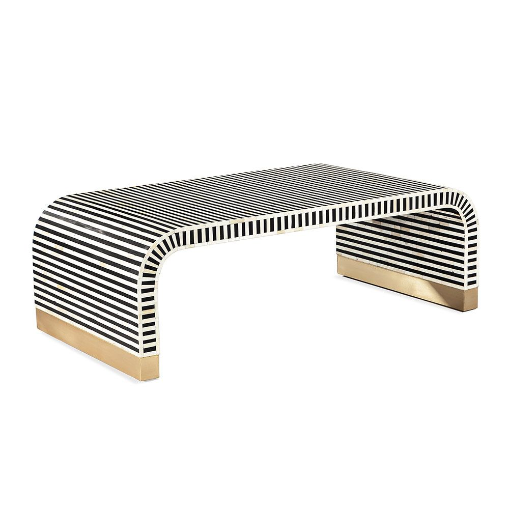 Beacon Cocktail Table in Various Colors by Interlude Home