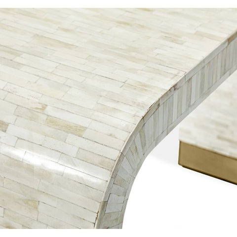 Beacon Console Table in Cream design by Interlude Home