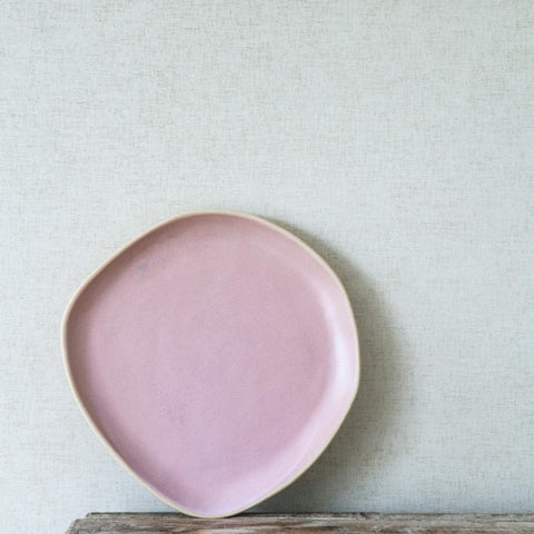 Organic Beetroot Side Plate by BD Edition I