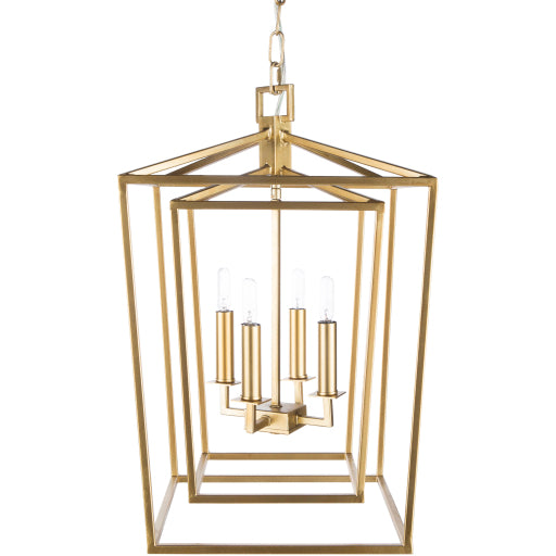 Bellair Lantern in Gold
